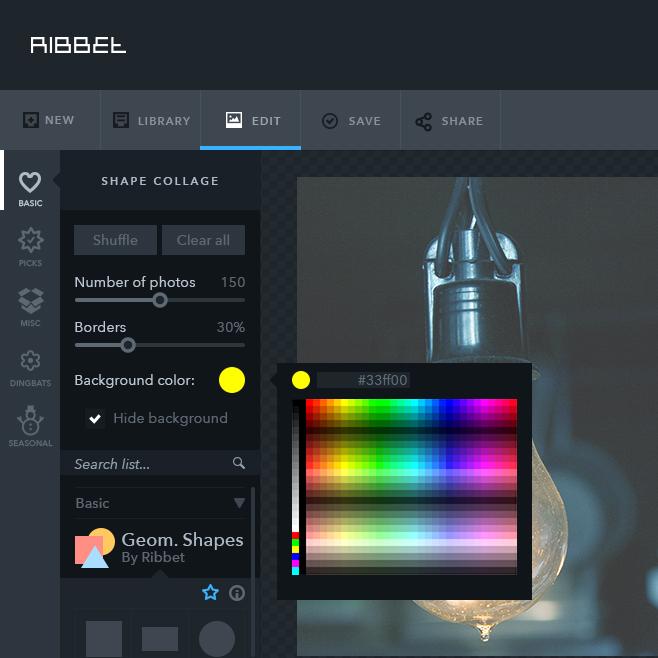 ribbet logo design process