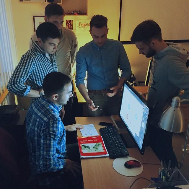 tubik studio brainstorming