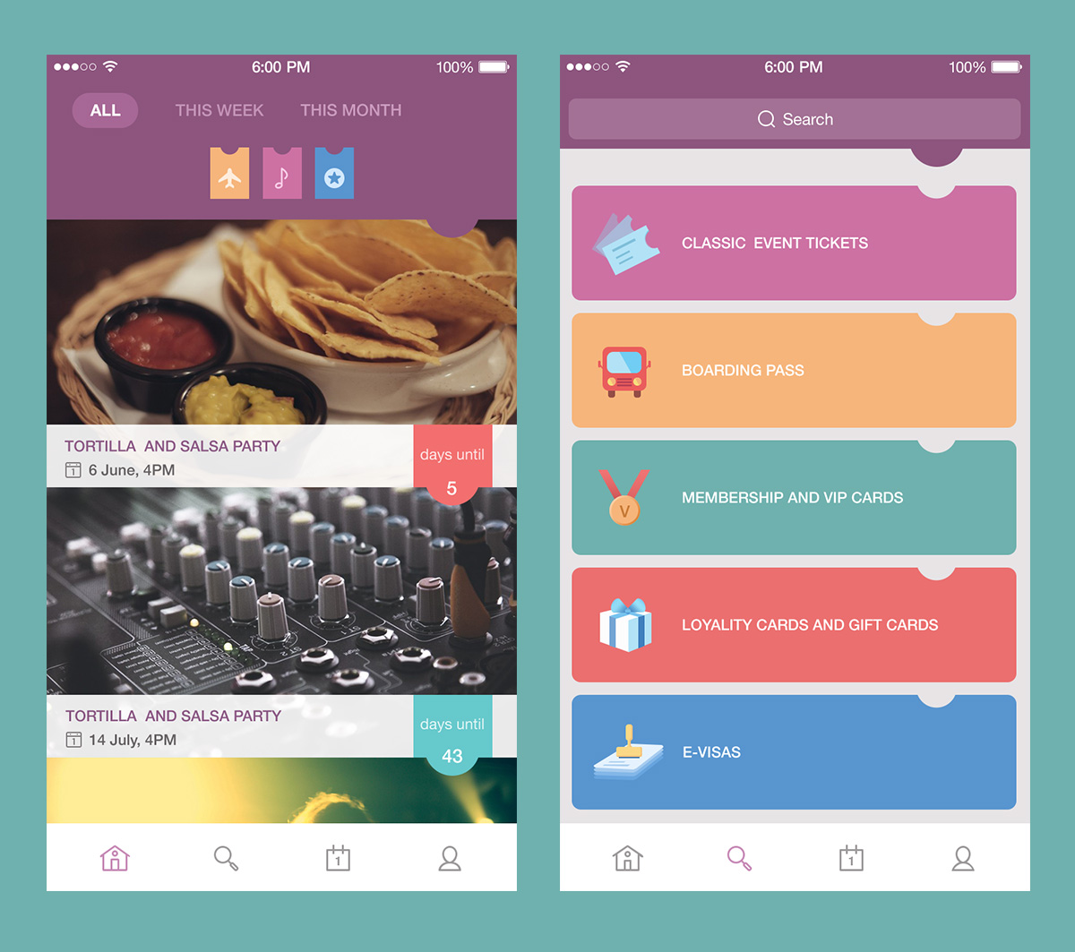 PassFold UI design by Tubik Studio