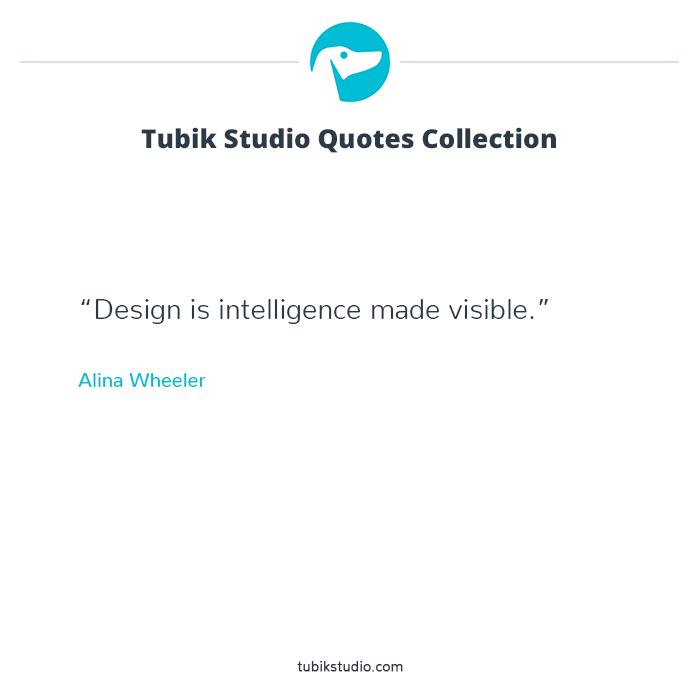 Tubik Studio quote