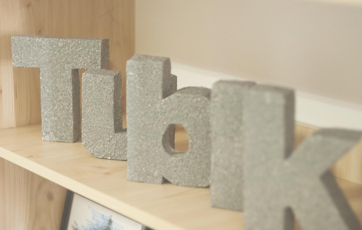 Tubik Studio design letters