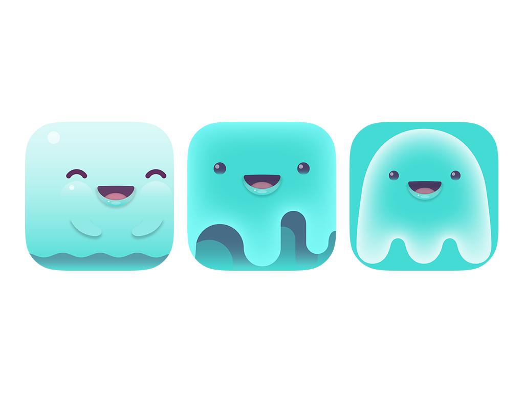 App Icons saily logo design tubik