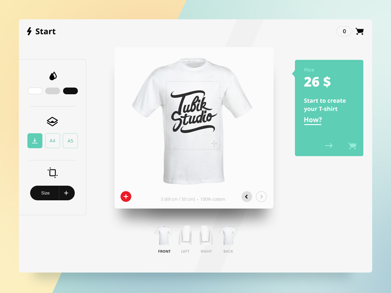 UI design tubik studio