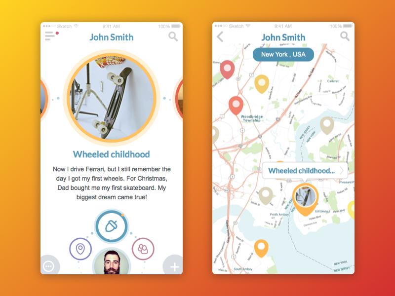 app interface tubikstudio