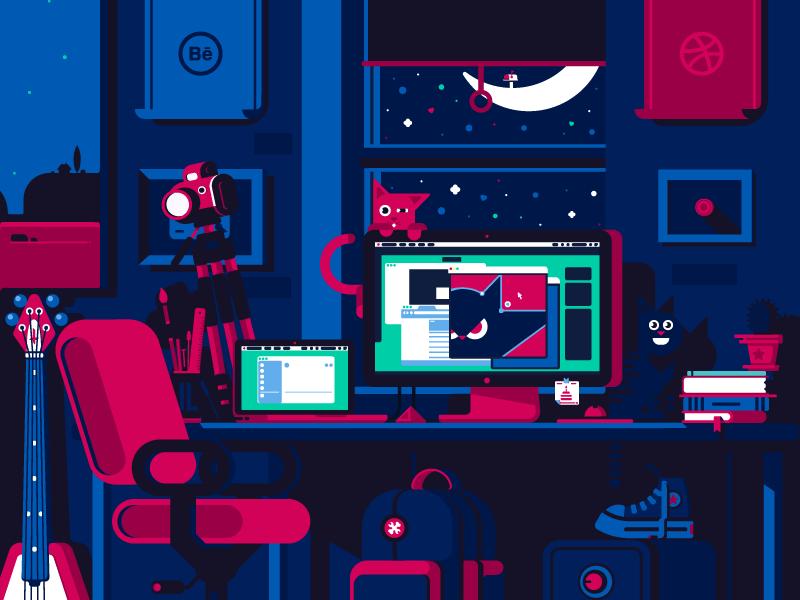 illustration tubik studio