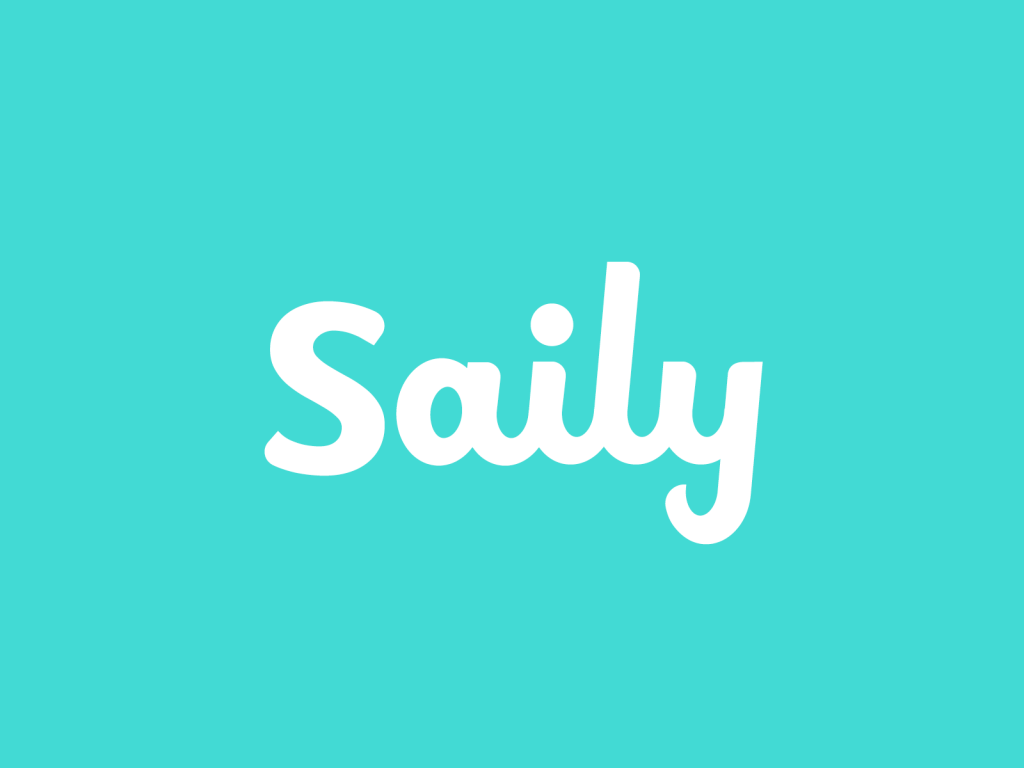 logo saily design case study lettering