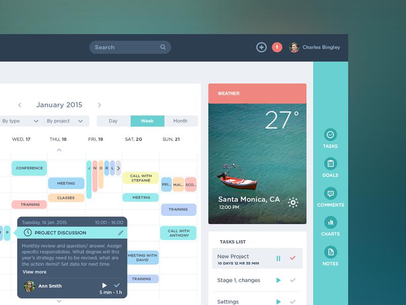 tubik studio ui app design