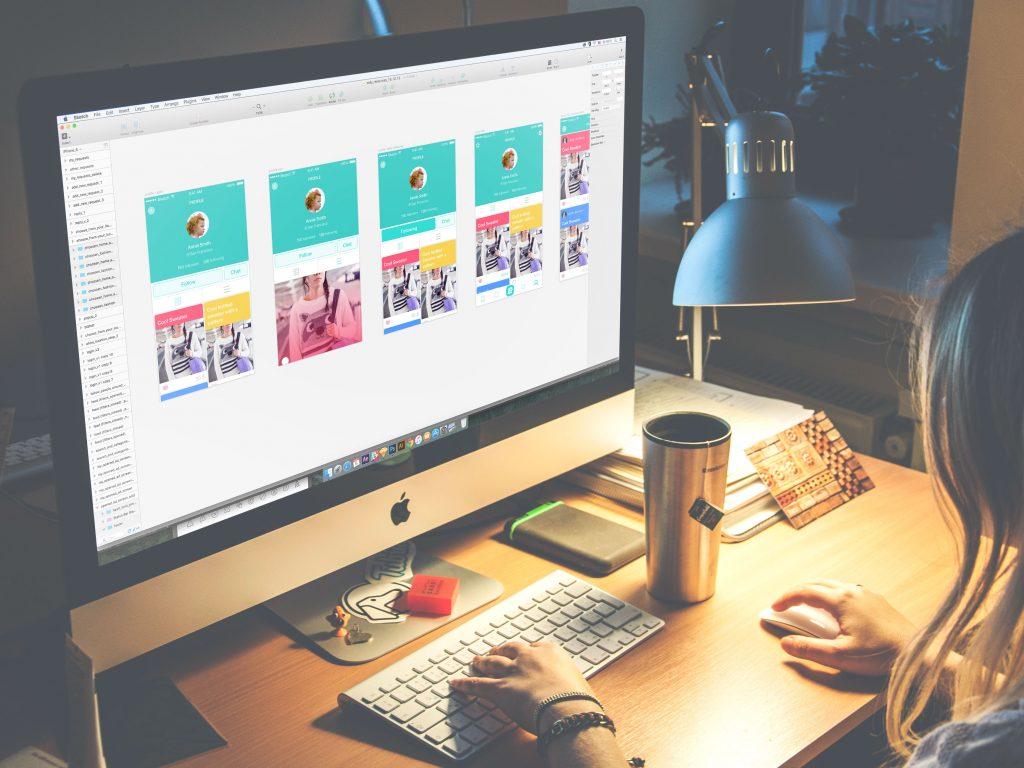 Tubik Studio UI design Saily app