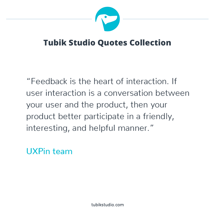 Tubik quote collection