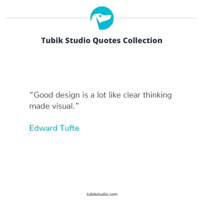 Tubik studio quote collection