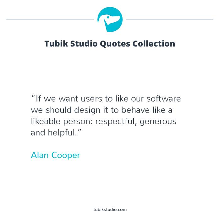 Tubik studio quotes collection