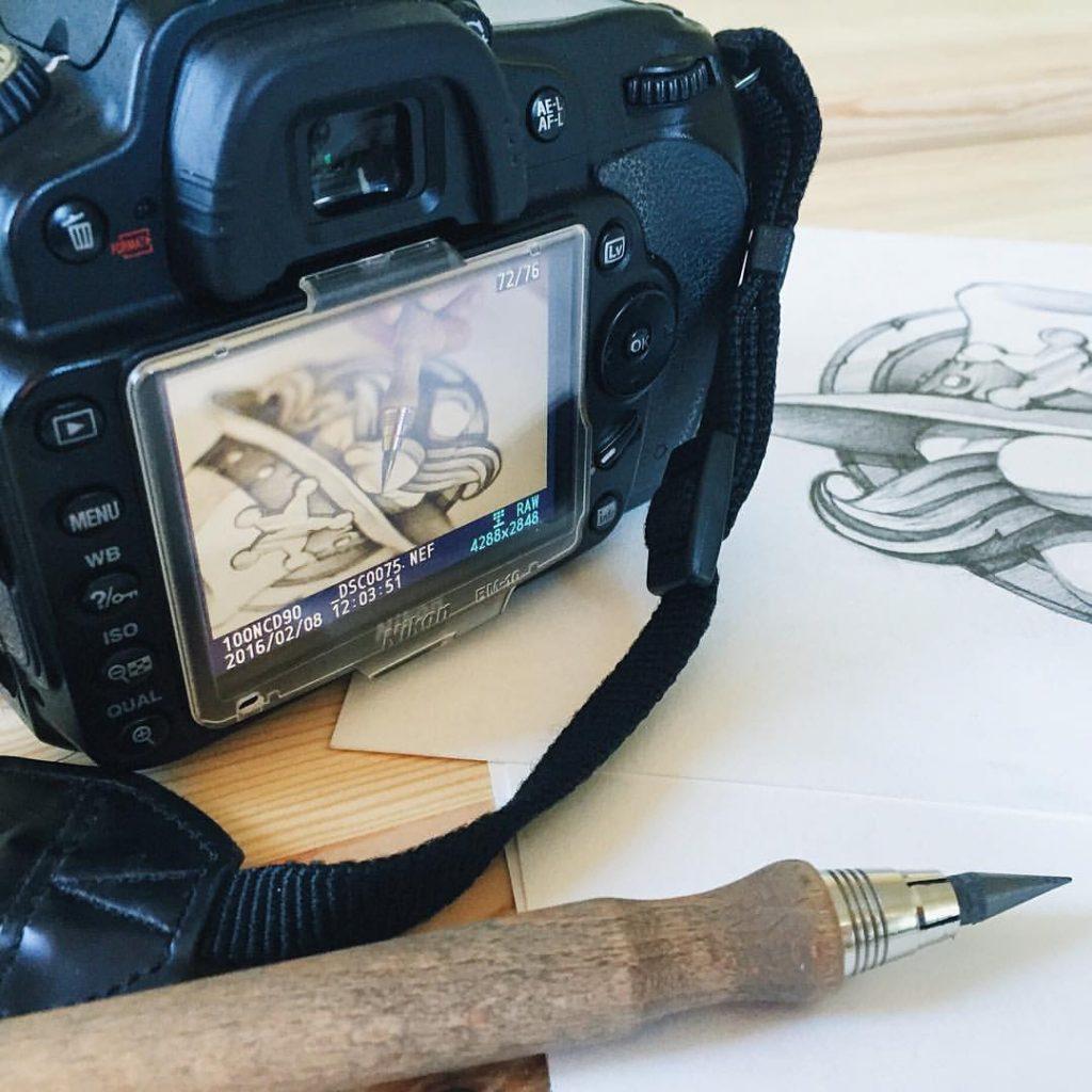 tubik studio sketch photo