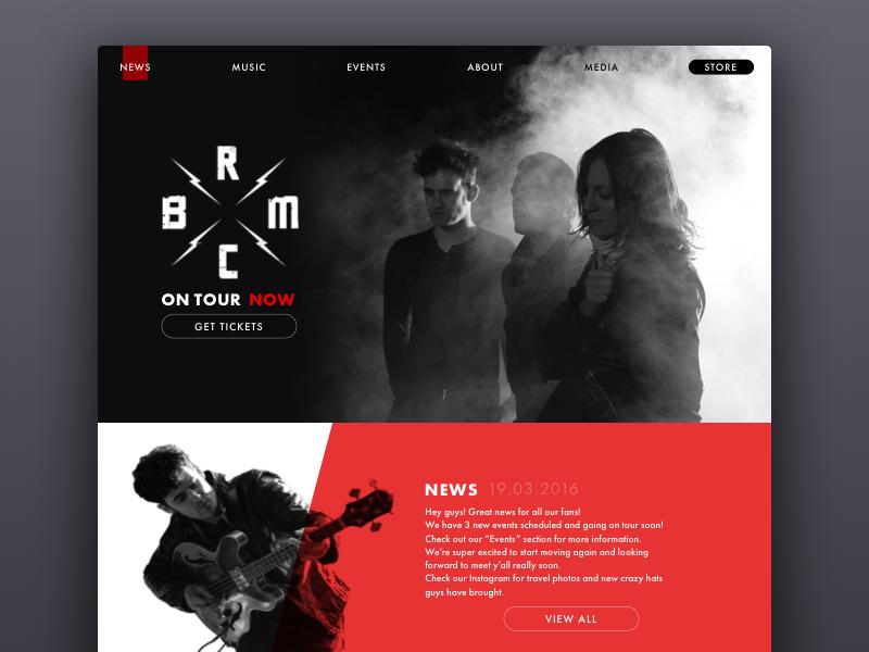 brmc website tubik_studio