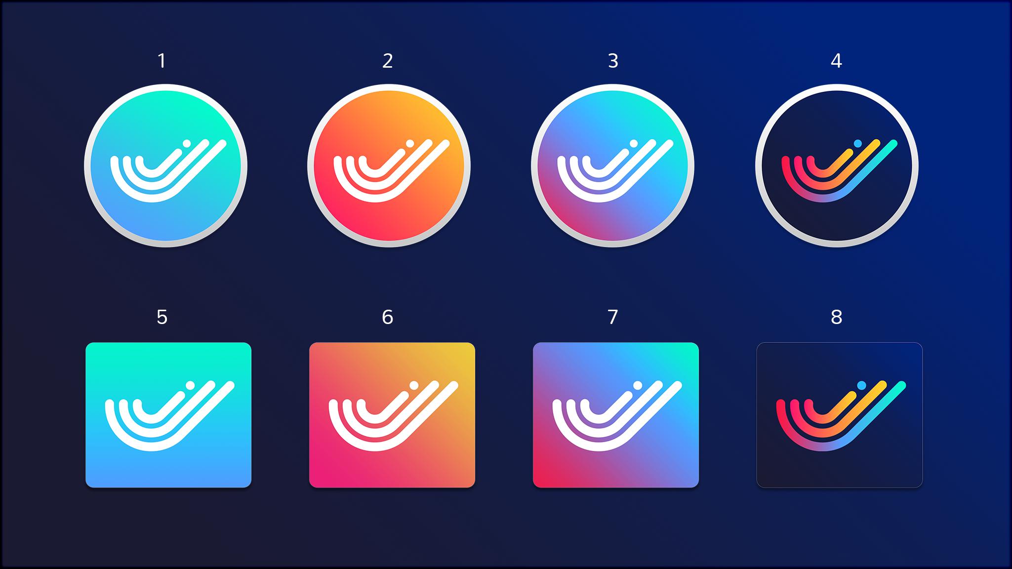 swiftybeaver icon variants tubik-studio
