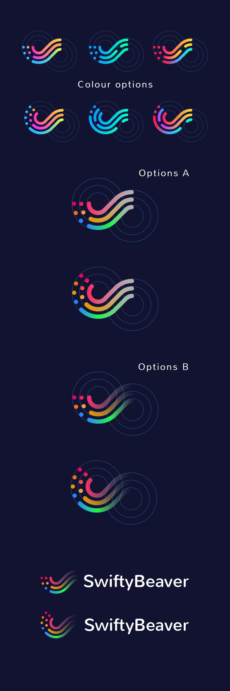 swiftybeaver logo design by tubik studio