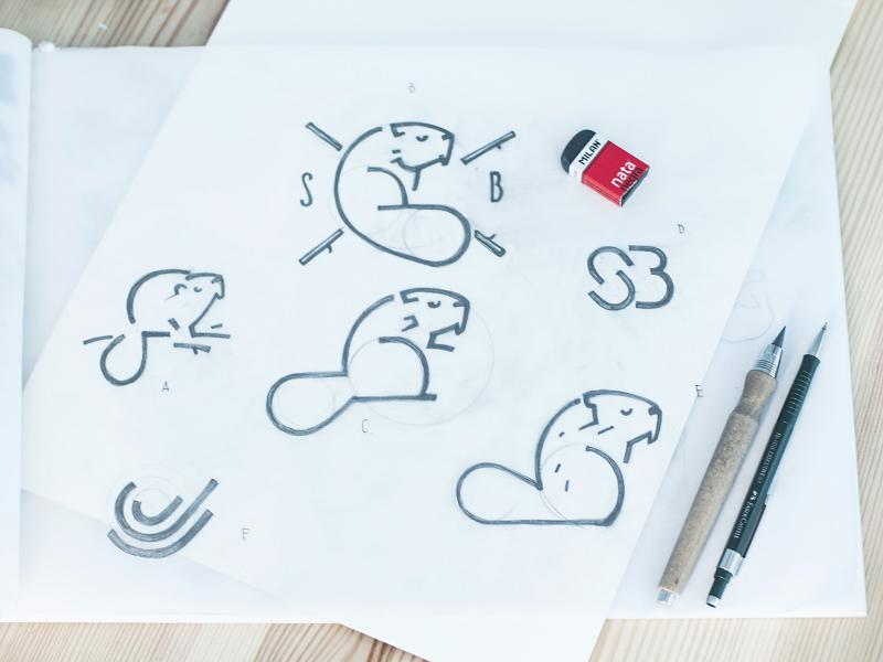 swiftybeaver logo design tubik studio