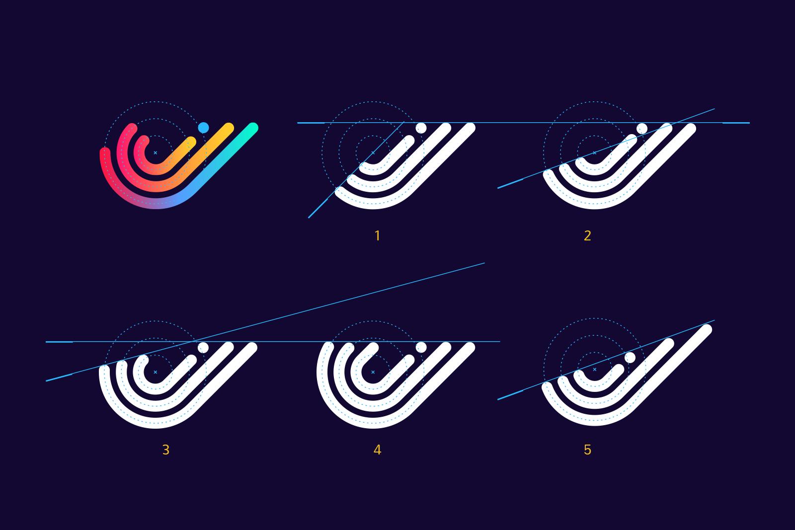 swiftybeaver logo versions tubik studio design