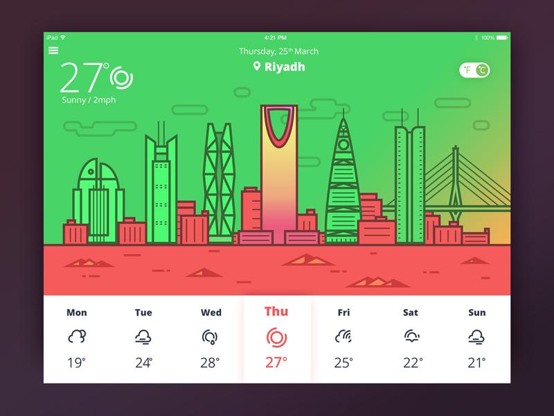 tubikstudio weather app