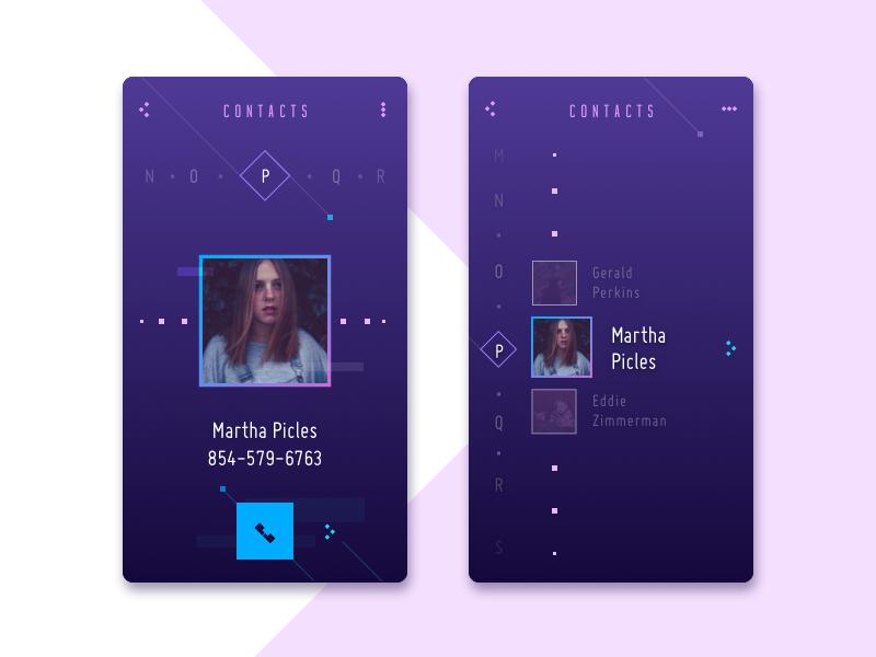 contact list-concept-tubik-studio