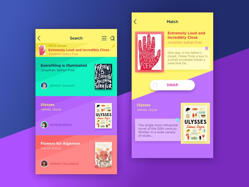 book swap app tubik studio