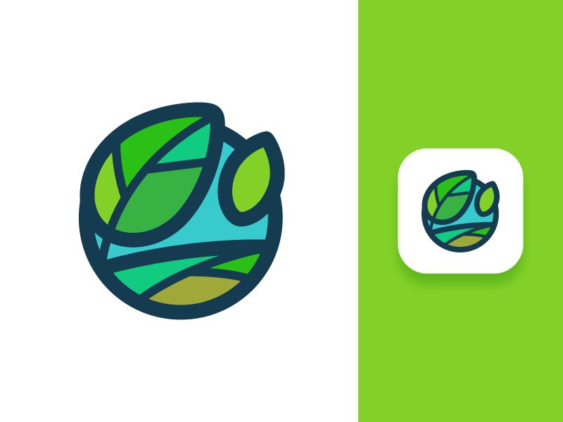 andre landscape tubik studio logo design