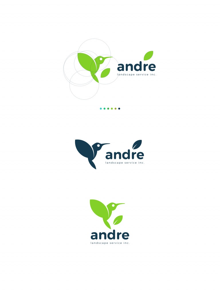 andre logo design Tubik