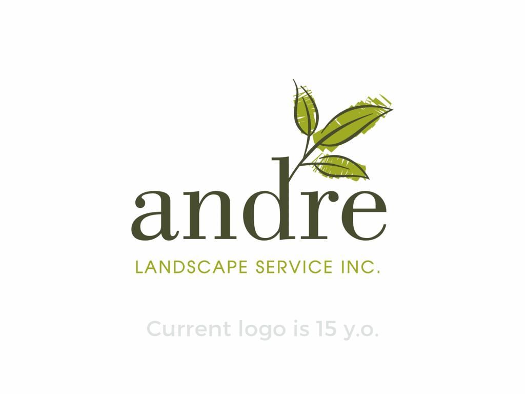 andre logo design case study