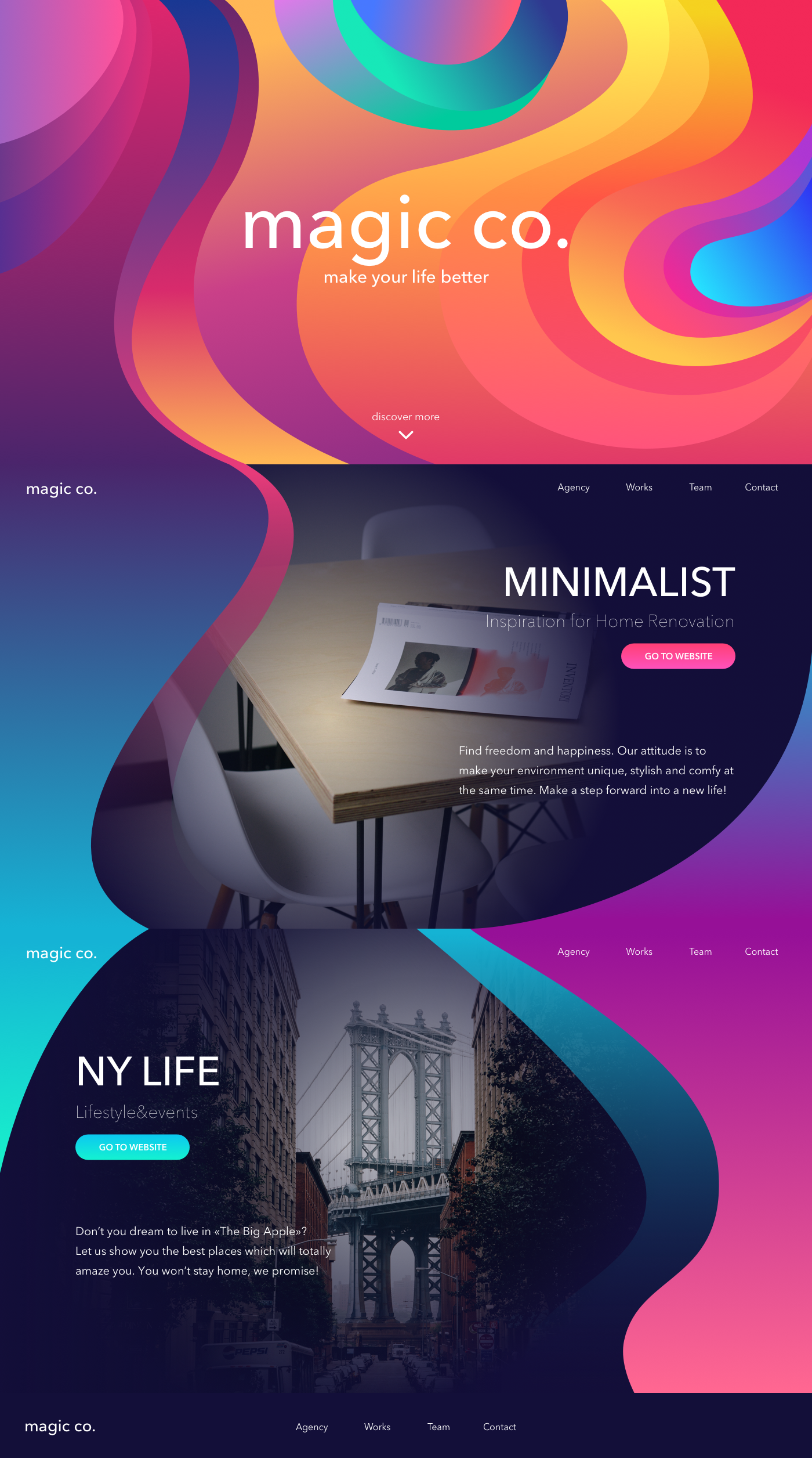 Soft Landing 10 Design Concepts Of Landing Pages