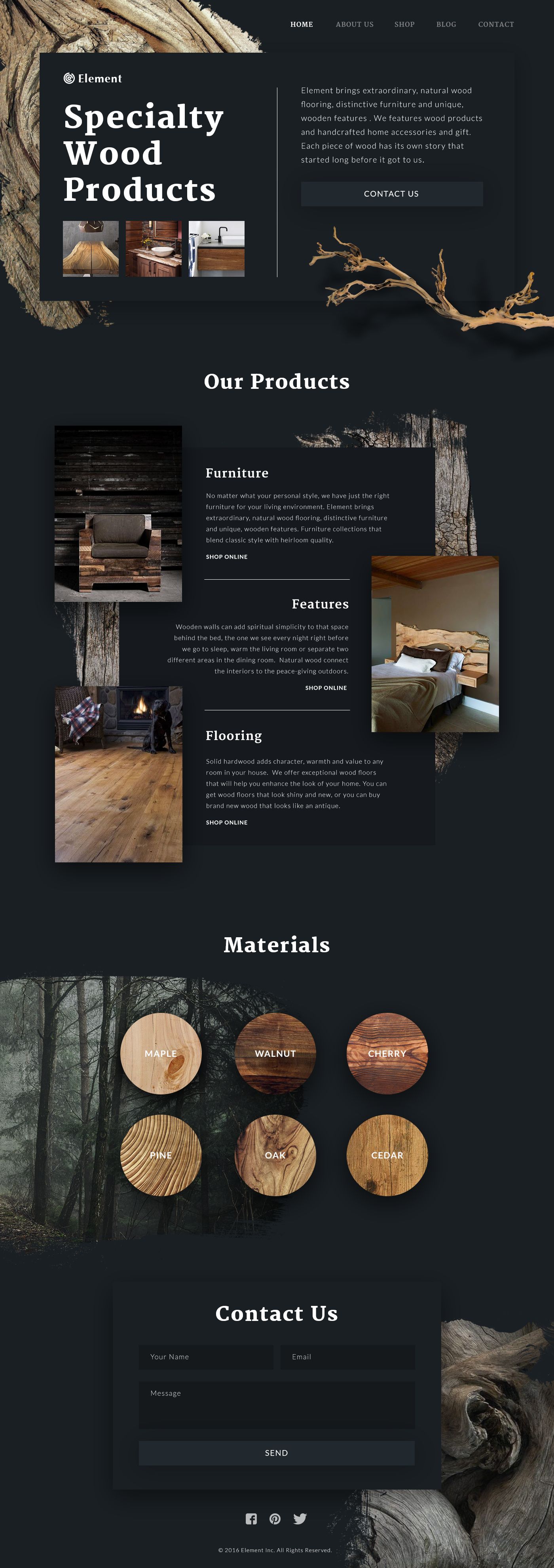 wood products_site_tubik