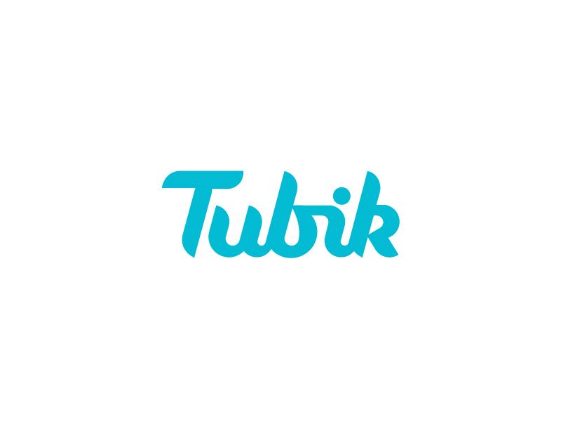 Tubik typography logo