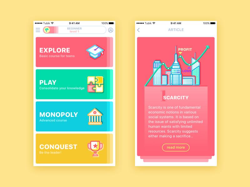 mobile app design tubik studio