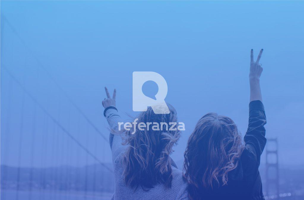 referanza logo design