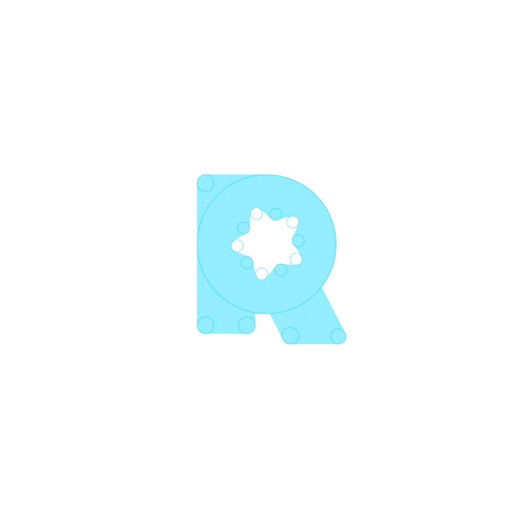 referanza logo design tubik