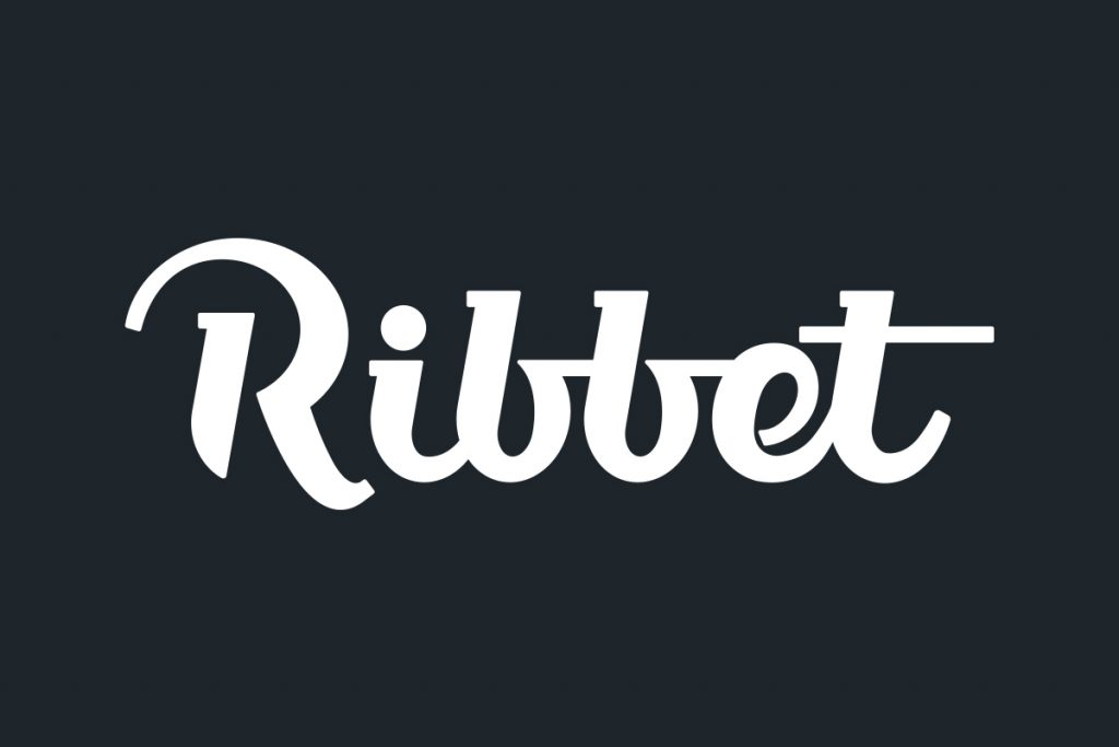 ribbet logo final design