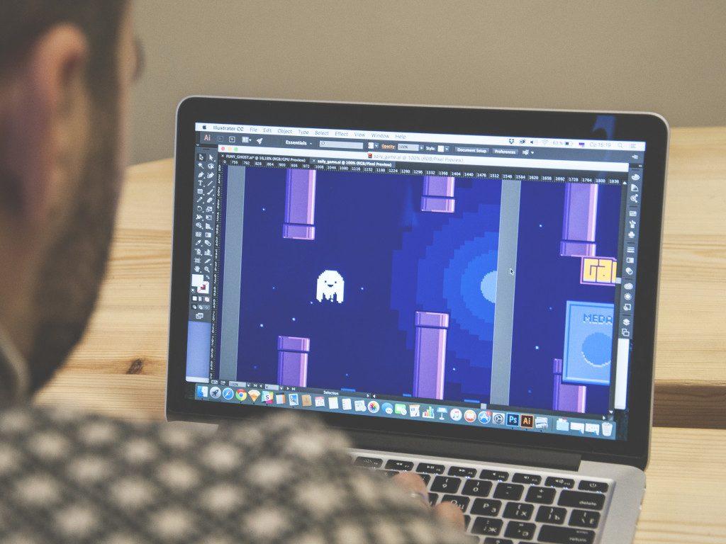 tubik studio logo saily app design game