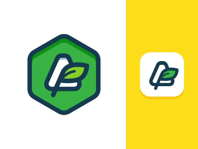 tea brand logo design tubik