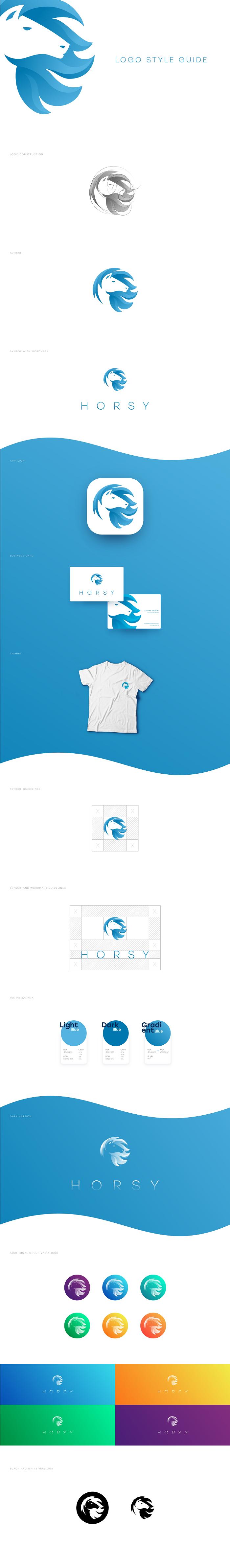logo style guide branding design
