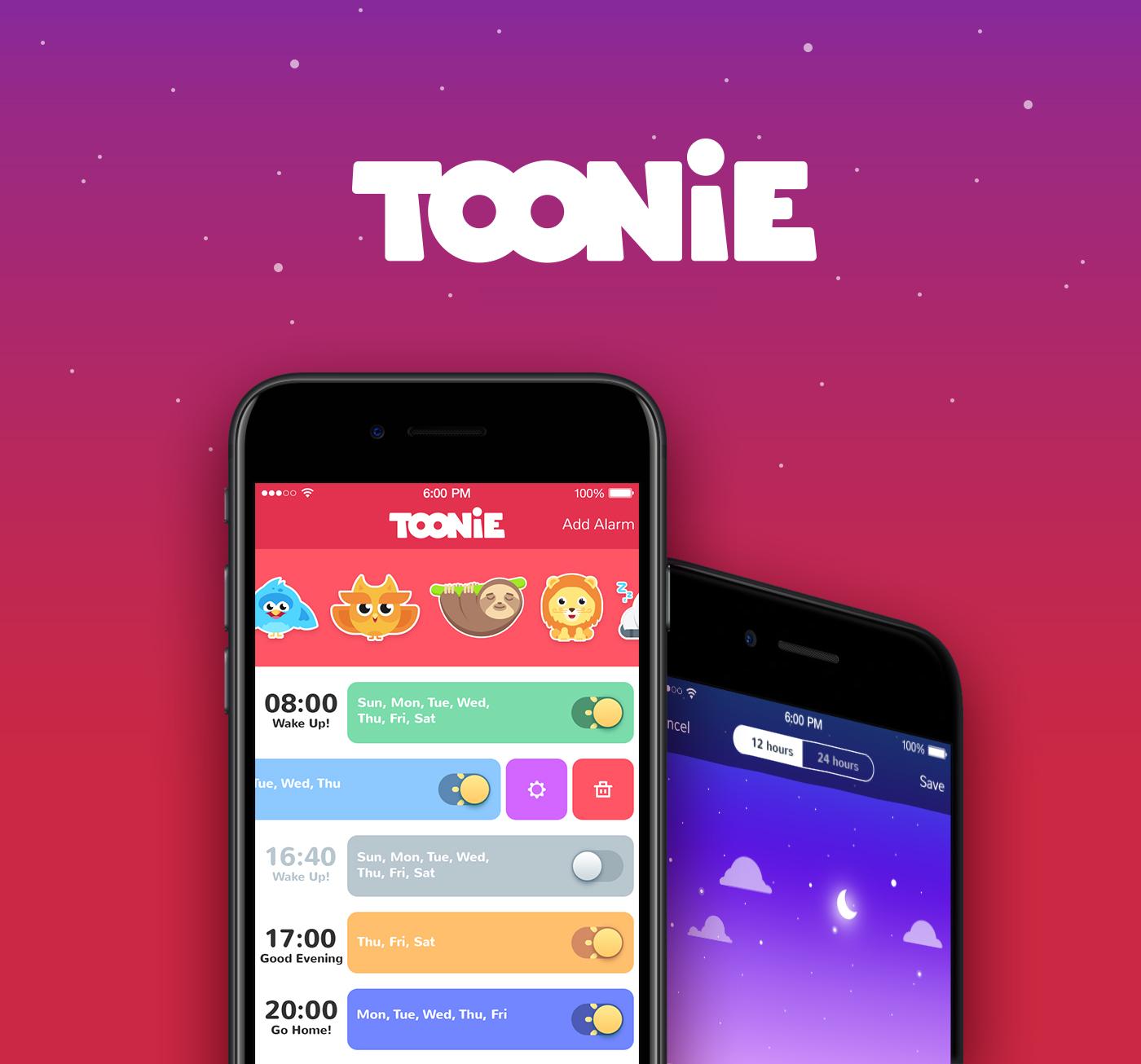 toonie-app-design
