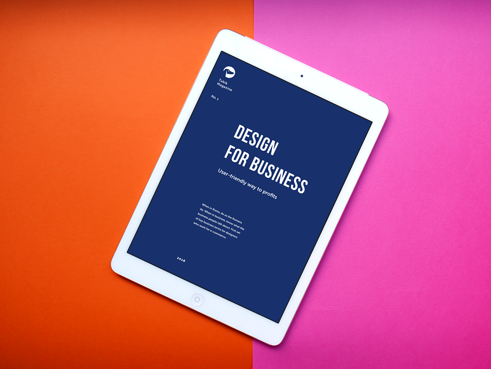 tubik studio free ebook design for business
