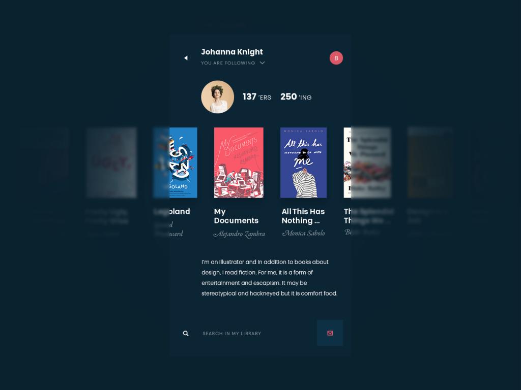 book swap app design