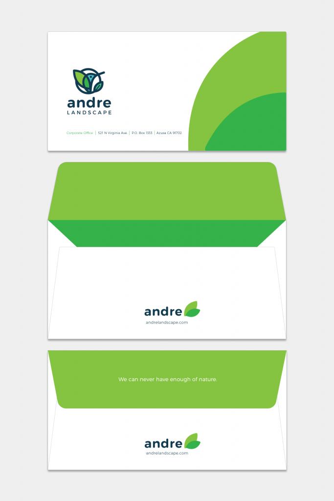 Envelope branding design tubikstudio andre