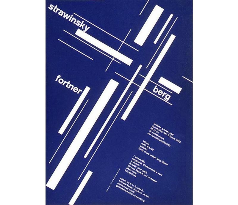 Swiss design poster