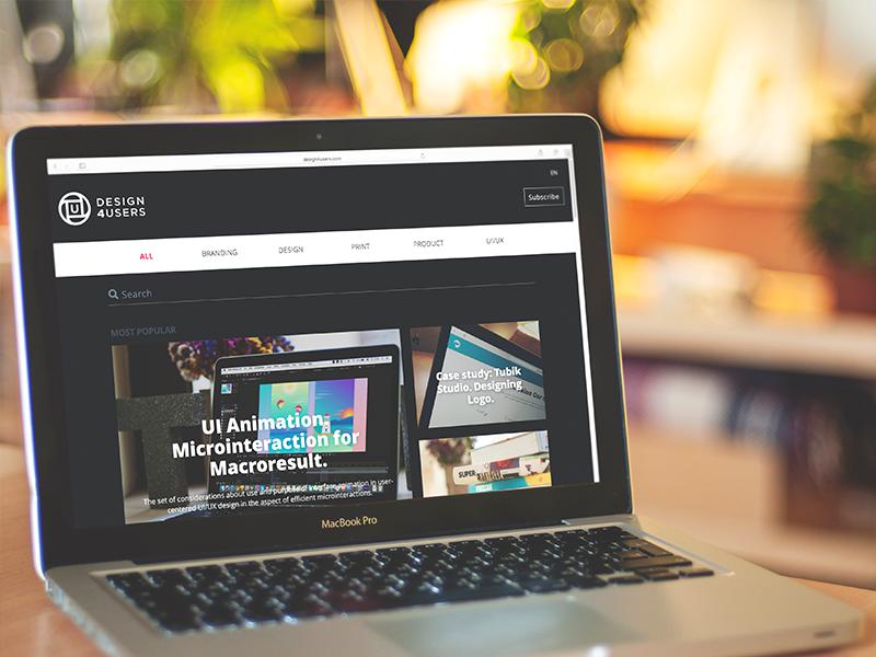 tubik web design