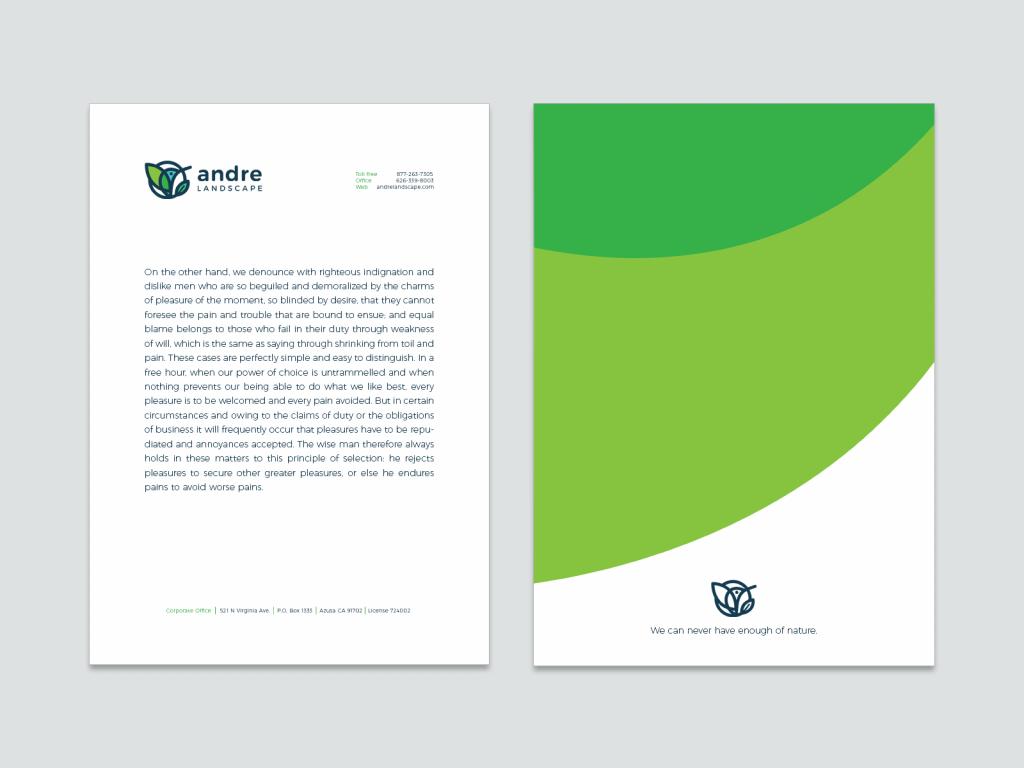 letterhead branding design tubik-studio andre