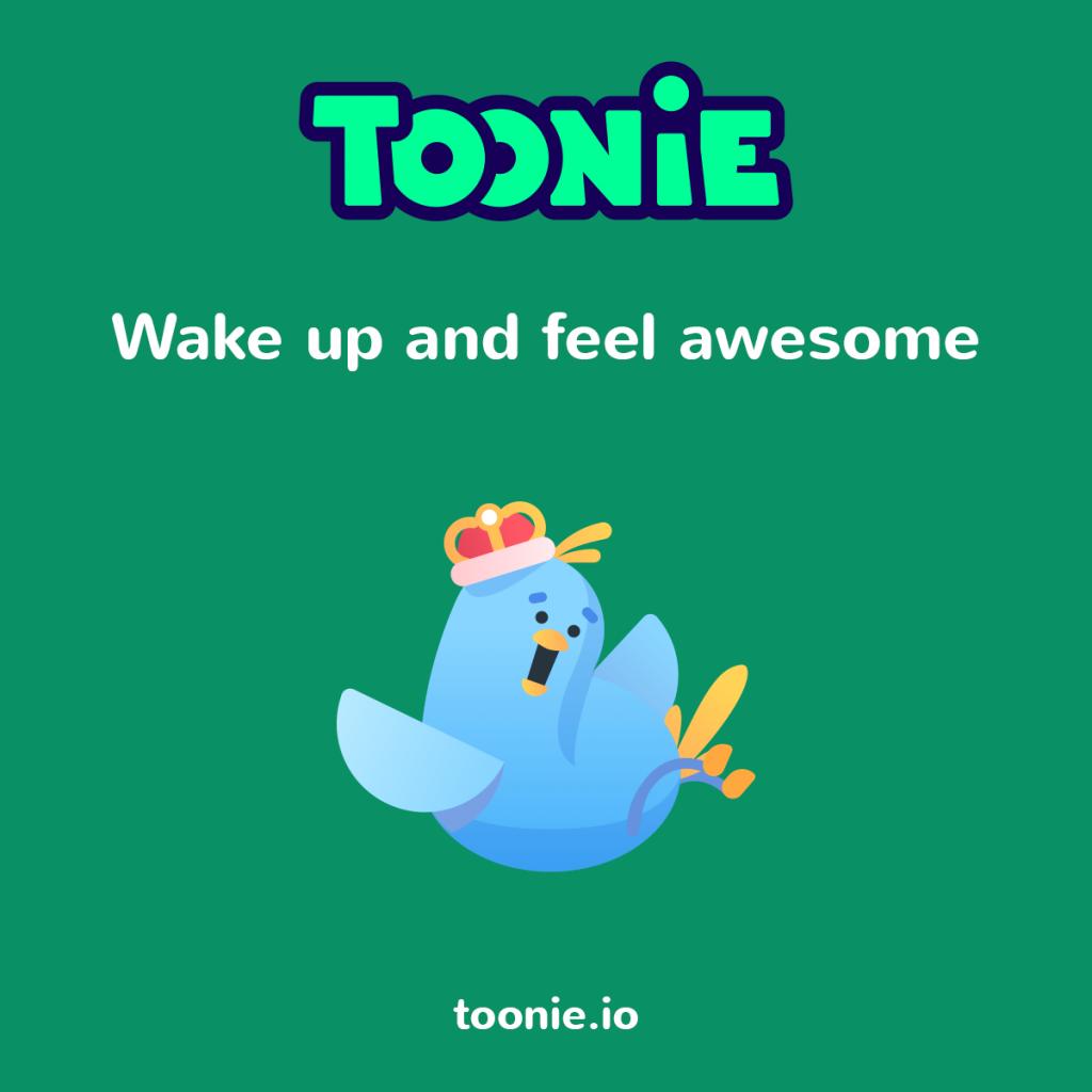 toonie alarm motivation graphics