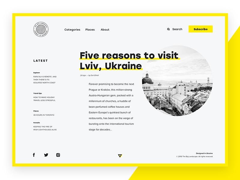 web design UI concept tubik studio