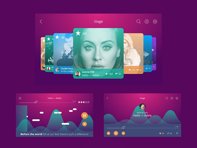 app UI design Tubik Studio