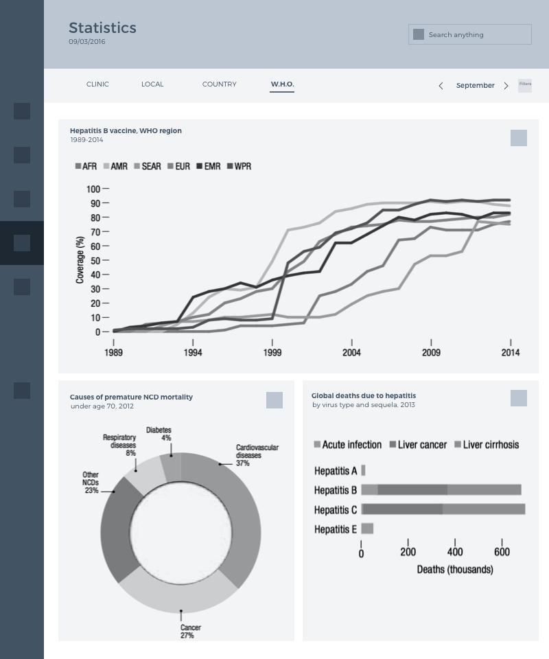 tubik health care app UX