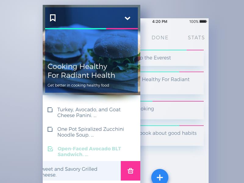 todo list UI app tubik studio
