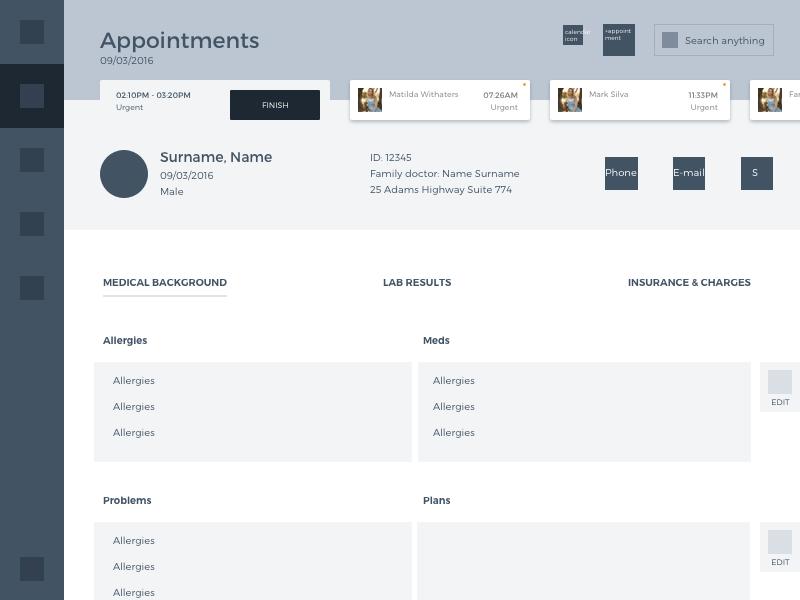 tubik health care app-UX